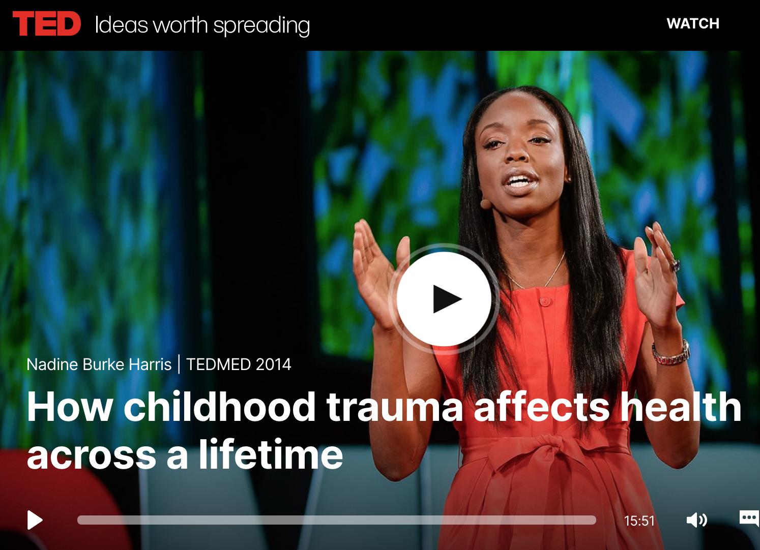 Nadine Burke Harris, kinderarts en auteur van 'The Deepest Well: healing the long-term effects of childhood adversity', suggereert dat slaap, lichaamsbeweging, voeding, mindfulness en een 'nurturing environment' kunnen bijdragen aan het verminderen van stress. Het congresprogramma is een weerspiegeling van dit idee. De VKJP-congrescommissie nodigt congresdeelnemers uit om deze epidemie samen te lijf te gaan, ook bij onszelf  (deze TED Talk is Nederlands ondertiteld).